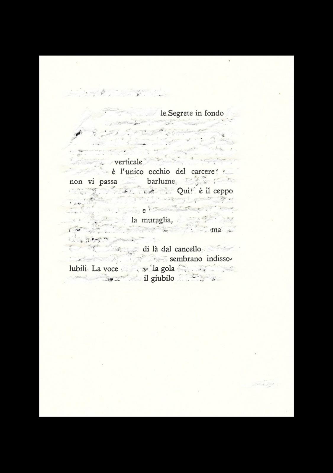Le segrete in fondo - cacciavite su pagina in esilio dal libro - cornice 18x24 - 2021